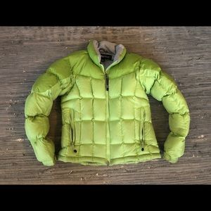 Marmot goose down puffy jacket